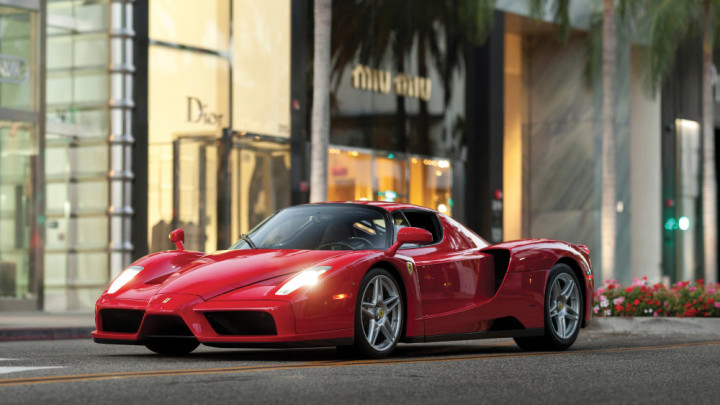 Red 2003 Ferrari Enzo