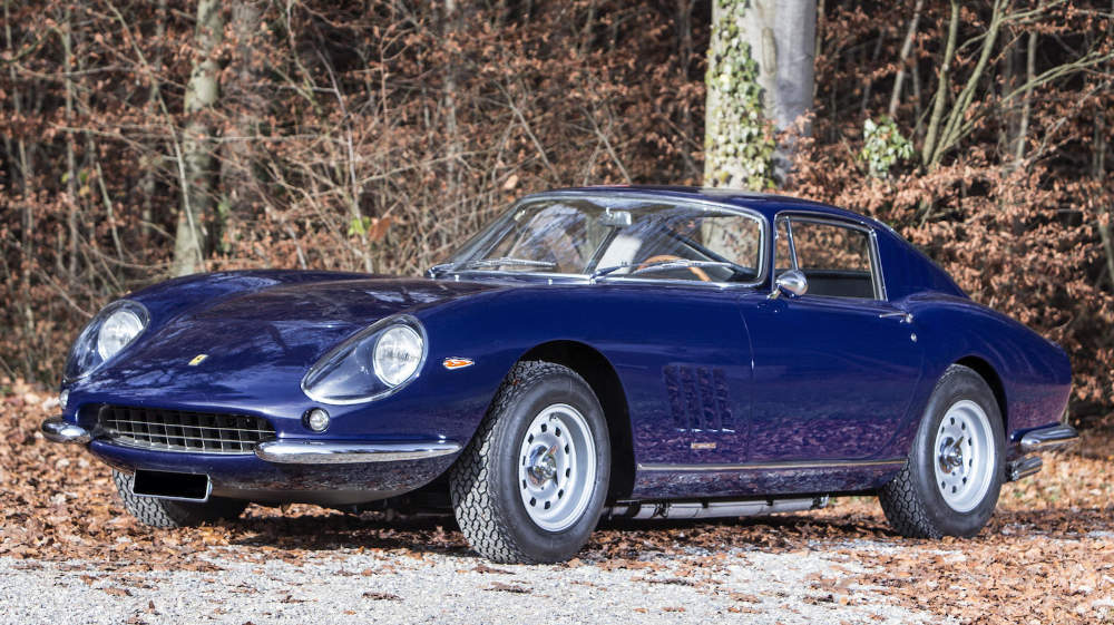 1966 Ferrari 275 GTB at Bonhams Paris 2016