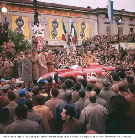 Juan Manuel Fangio start of 1956 MM