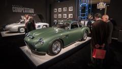 The 1962 Aston Martin DB4 GT Zagato & Mercedes Benz 300 SL Sportabteilung