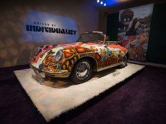 Janis Joplin's 1964 Porsche 356 C 1600 SC Cabriole
