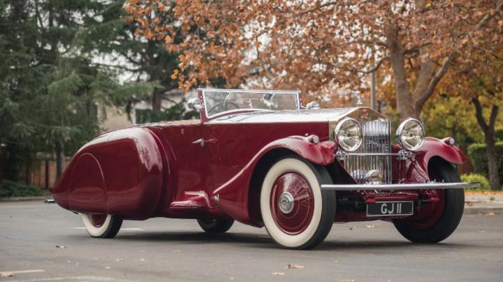 1930 Rolls-Royce Phantom II Torpedo Sports by Barker