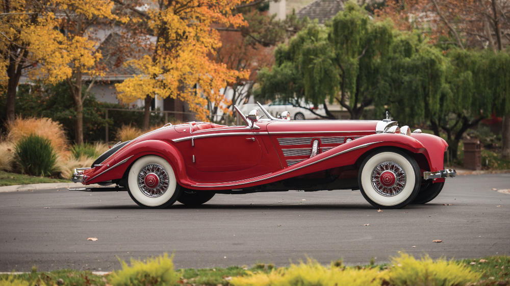 2016 rm sotheby s arizona sale top german cars preview for Mercedes benz car auctions