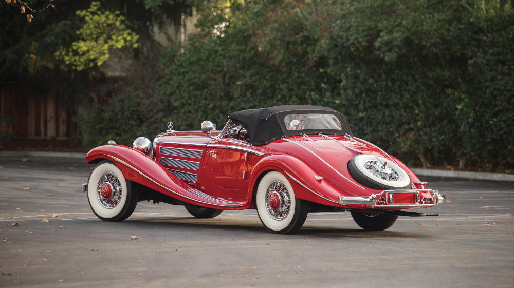 1937 Mercedes Benz 540 K Special Roadster by Sindelfingen