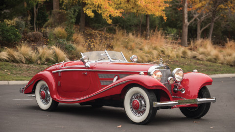 1937 Mercedes Benz 540 K Special Roadster by Sindelfingen