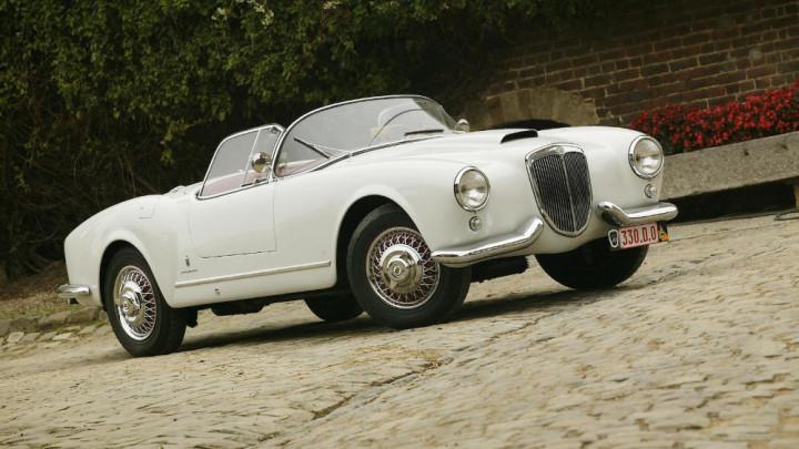 1955 Lancia Aurelia B24 Spider with Hardtop