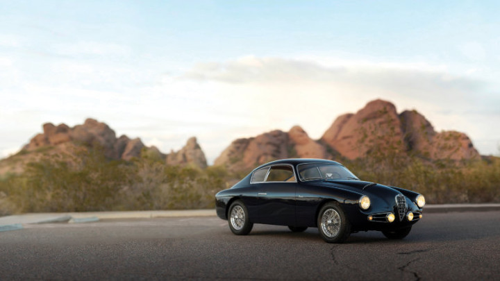 1955 Alfa Romeo 1900 SC SS Berlinetta by Zagato