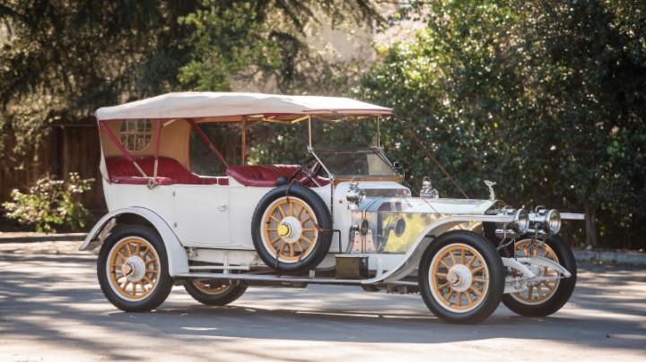 1911 Rolls Royce 40/50 HP Silver Ghost Tourer by Lawton