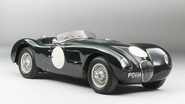 1952 Jaguar C-Type Sports Racing Chassis XKC011