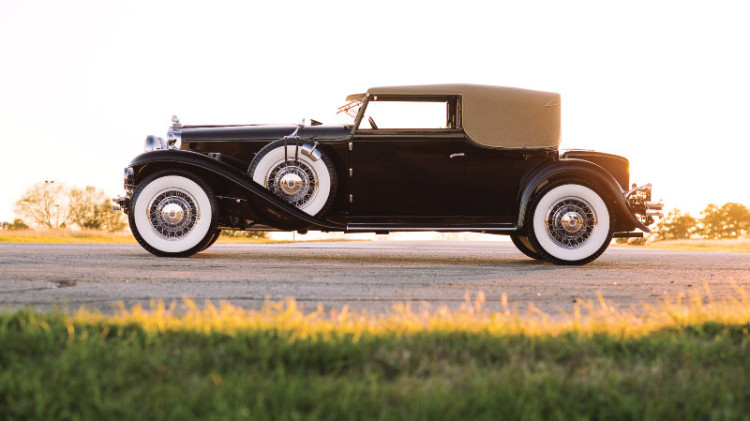 1931 Stutz DV-32 Convertible Victoria by Rollston