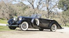 1935 Mercedes Benz 500 K Cabriolet C with coachwork by Carrosserie J. Saoutchik