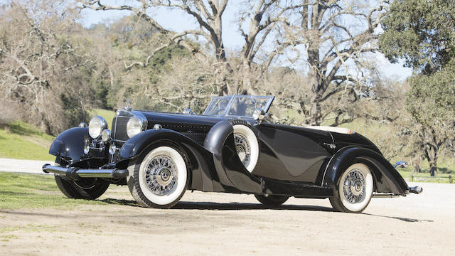 1935 Mercedes Benz 500 K Cabriolet C with coachwork by Carrosserie J. Saoutchik