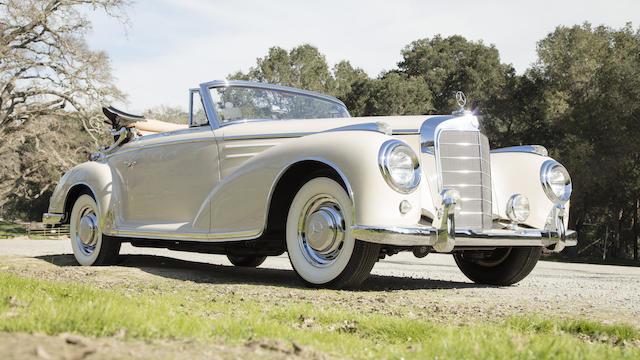 1957 Mercedes Benz 300 Sc Cabriolet