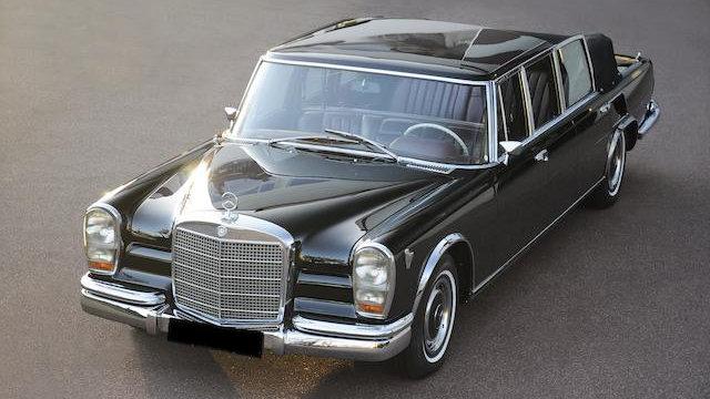 1971 Mercedes Benz 600 Landaulet
