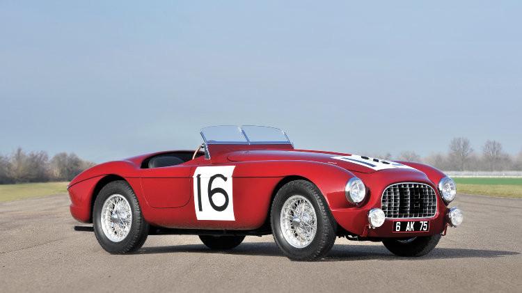 1951 Ferrari 340 America Barchetta by Touring