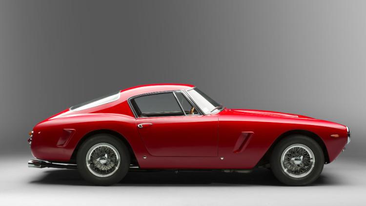 1961 Ferrari 250 GT SWB Berlinetta side profile