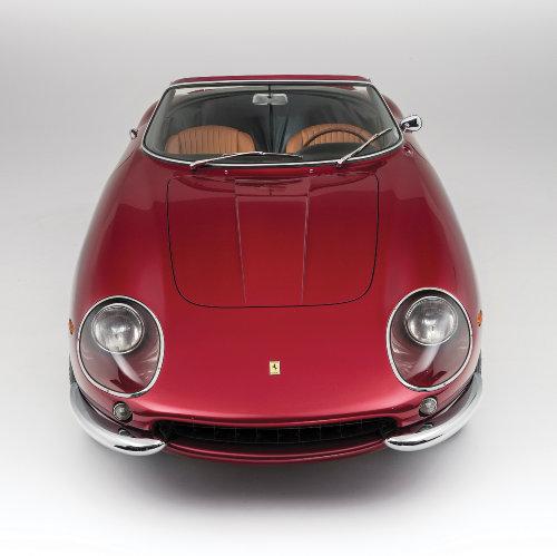 1968 Ferrari 275 GTS:4 NART Spider by Scaglietti front