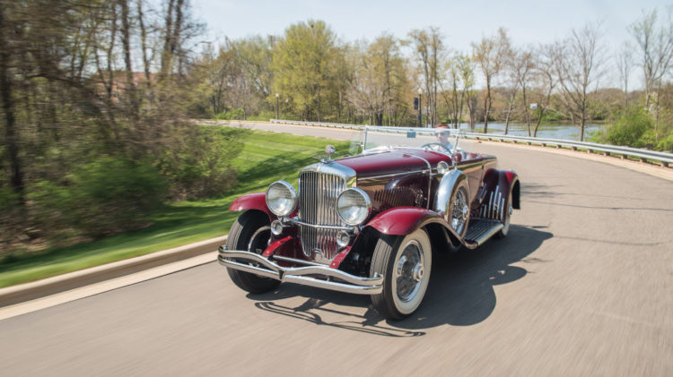 1929 Duesenberg Model J Disappearing Top