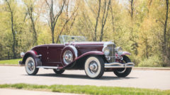 """1929 Duesenberg Model J """"Disappearing Top"""" Convertible Coupe by Murphy"""