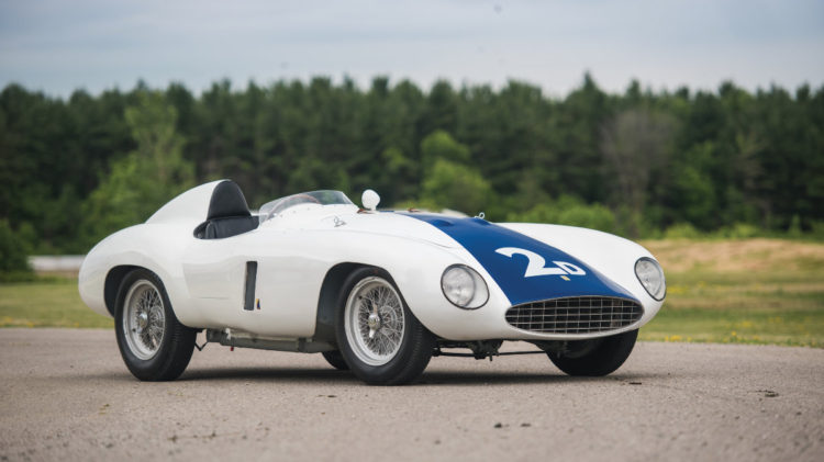 1955 Ferrari 750 Monza Spider side