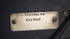 "1962 Shelby 260 Cobra ""CSX2000"" number"