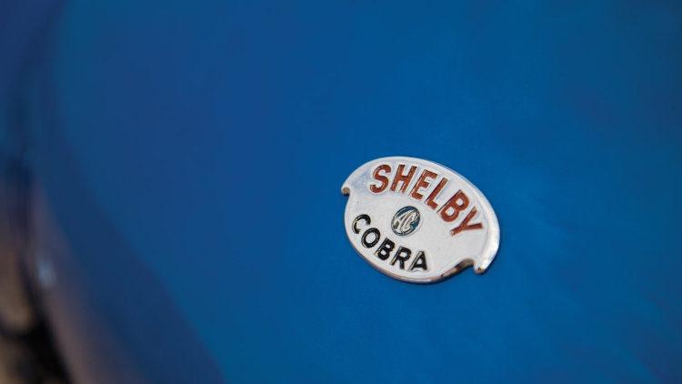 1962 Shelby CSX2000 badge