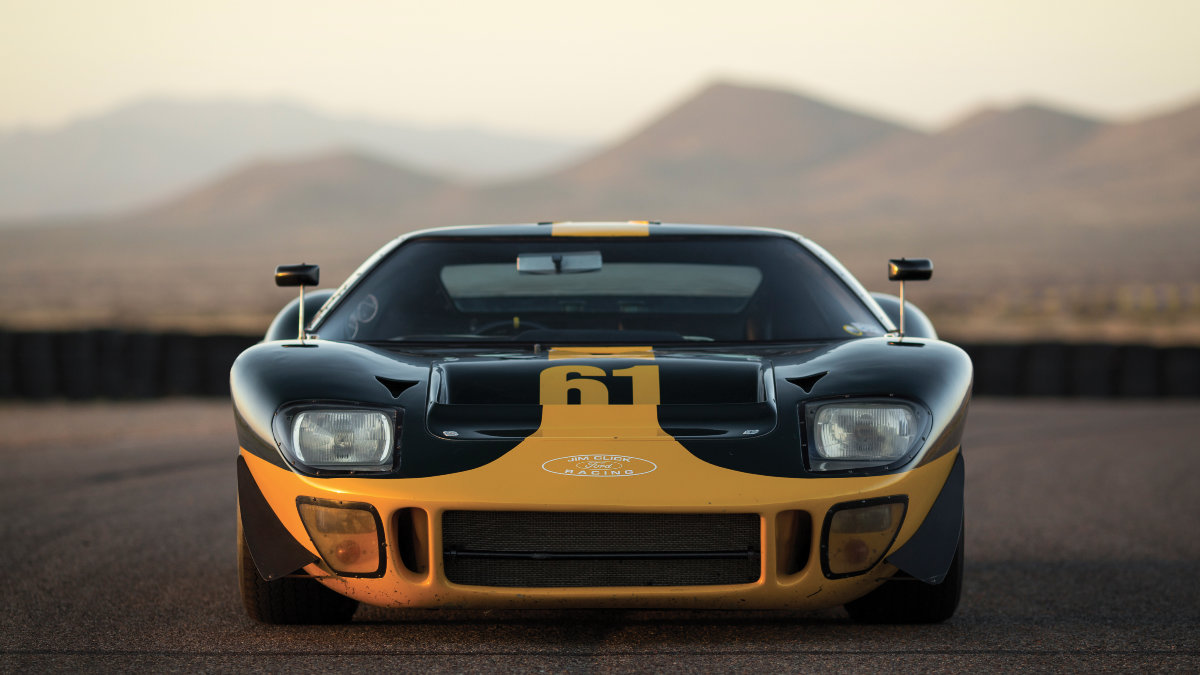 Ford Gt Mk I Chassis No P