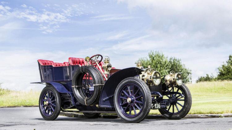 1904 Mercedes Simplex 28-32 HP Five Seater Rear Entrance Tonneau