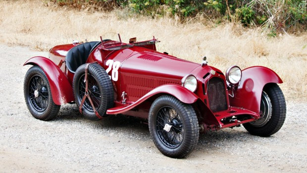 1933 Alfa Romeo 8C 2300 Monza