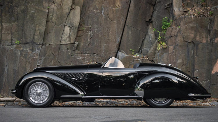 1939 Alfa Romeo 8c 2900b Lungo Spider Most Expensive Prewar Car Ever
