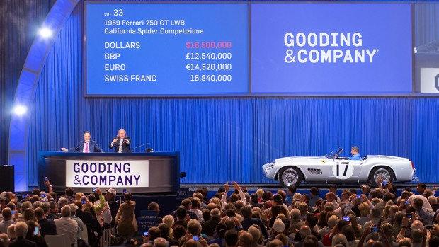 1959 Ferrari 250 GT LWB California Spider Competizione Sold