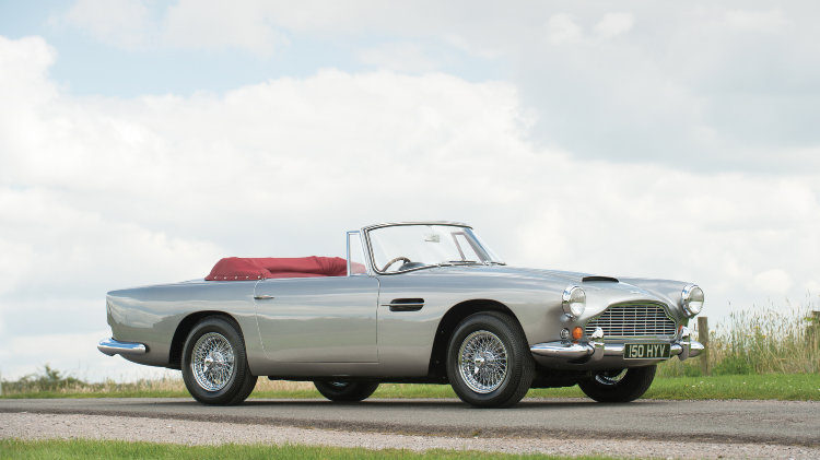 1963 Aston Martin DB4 Series V Convertible