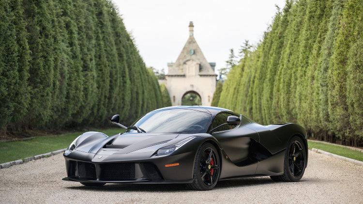 2014 Ferrari LaFerrari black