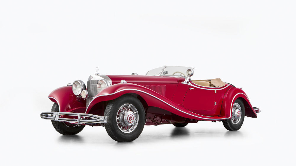 2016 bonhams chantilly sale results press release for Mercedes benz chantilly