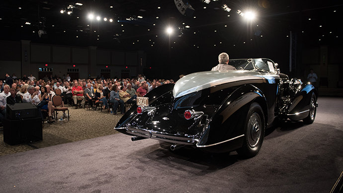 1932 Lincoln Model KB Boattail Speedster at auction