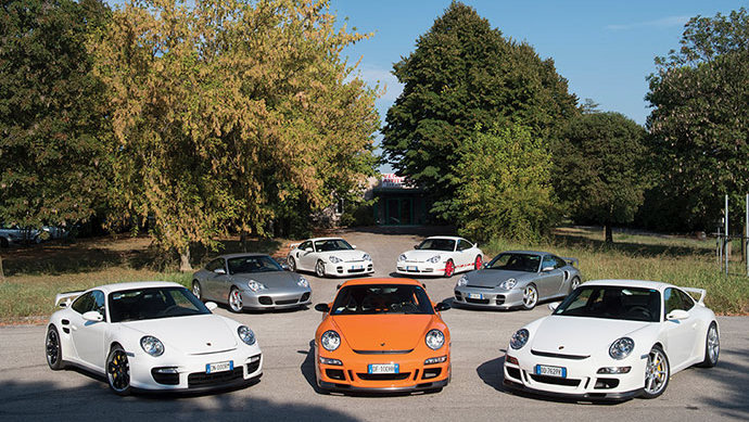 Select Porsches from the upcoming Duemila Ruote sale