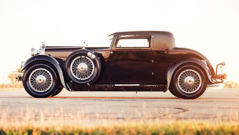 1929 Stutz Model M Supercharged Coupe
