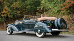 Rear View 1933 Chrysler CL Imperial Dual-Windshield Phaeton 'Ralph Roberts' by LeBaron