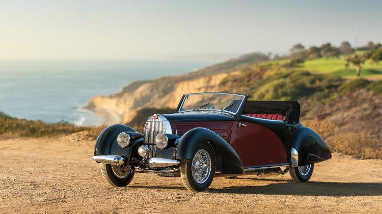 1938 Bugatti Type 57 Cabriolet by Letourneur et Marchand