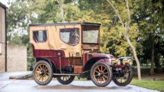 1904 Renault Model U Type B 14/20HP Four-Cylinder Swing-Seat Tonneau