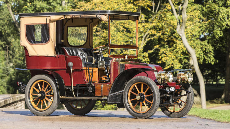 1904 Renault Model U Type B 14/20HP Four-Cylinder Swing-Seat Tonneau