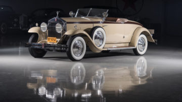 1929 Rolls Royce Phantom I Henley Roadster by Brewster