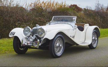 1938 Jaguar SS 100 3 ½ Litre (Estimate: $450,000-$525,000)