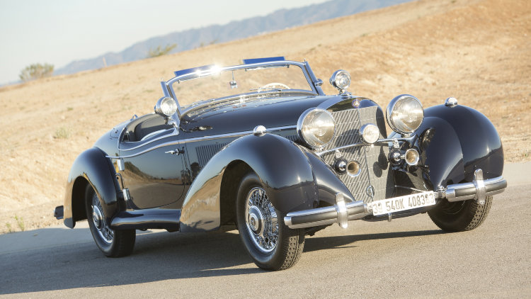 1939 Mercedes Benz 540 K Special Roadster