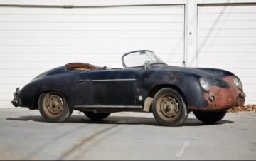 1958 Porsche 356 A Super Speedster (Estimate: $200,000-$275,000 Without Reserve)