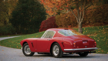 1961 Ferrari 250 GT SWB Berlinetta rear quarter
