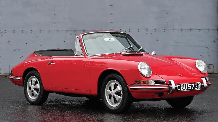 Red 1964 Porsche 901 Cabriolet Prototype