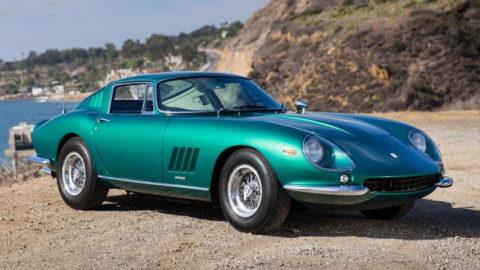 Verde Pino 1967 Ferrari 275 GTB/4