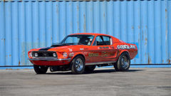 1968 Ford Mustang Cobra Jet Lightweight Driven by Bill Ireland, 423 Miles (Lot S120)