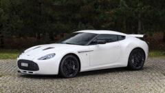 White 2012 Aston Martin V12 Zagato
